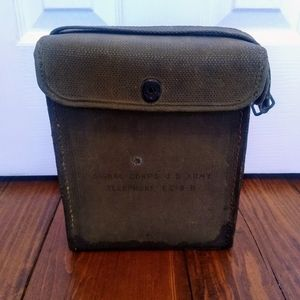 Vintage Military Signal Corps Telephone